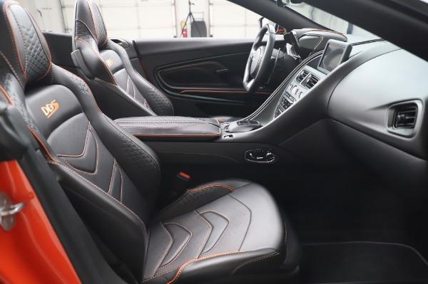 Used 2020 Aston Martin DBS Superleggera Volante for sale Sold at Pagani of Greenwich in Greenwich CT 06830 24
