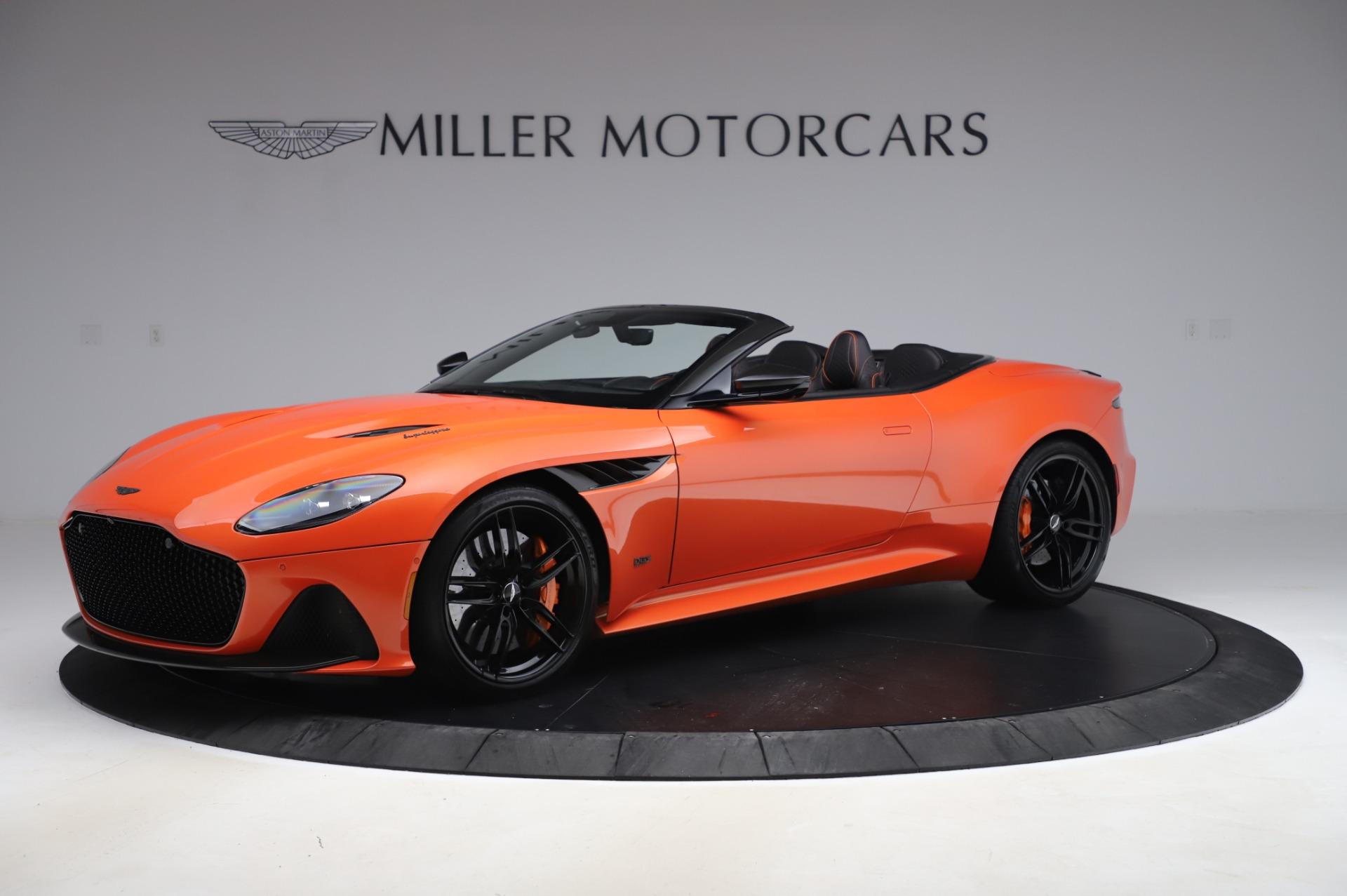 Used 2020 Aston Martin DBS Superleggera Volante for sale Sold at Pagani of Greenwich in Greenwich CT 06830 1