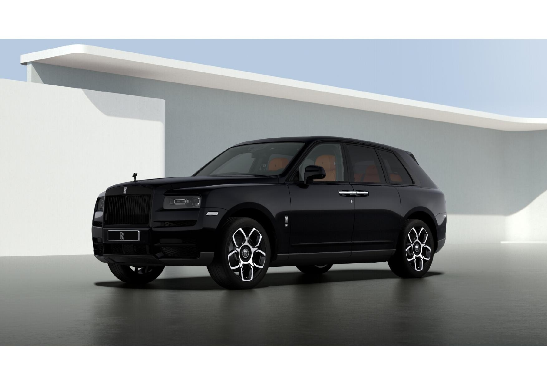 New 2021 Rolls-Royce Cullinan Black Badge for sale $433,225 at Pagani of Greenwich in Greenwich CT 06830 1