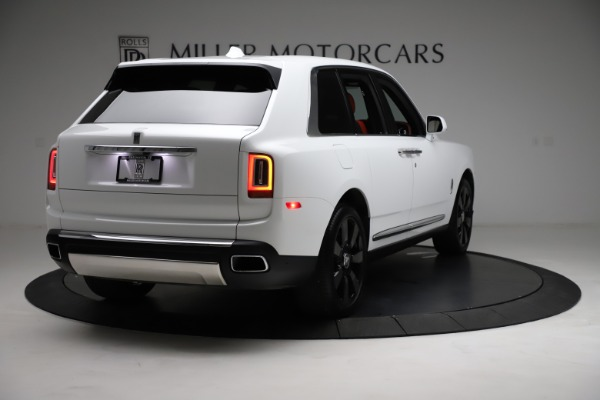 New 2021 Rolls-Royce Cullinan Base for sale $378,525 at Pagani of Greenwich in Greenwich CT 06830 9