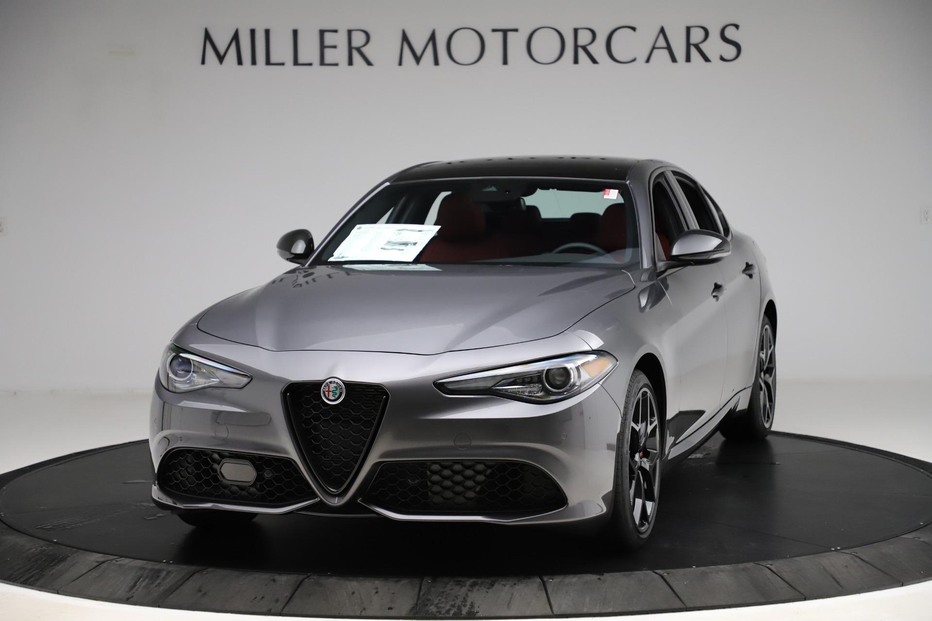 New 2020 Alfa Romeo Giulia Ti Sport Q4 for sale $48,595 at Pagani of Greenwich in Greenwich CT 06830 1