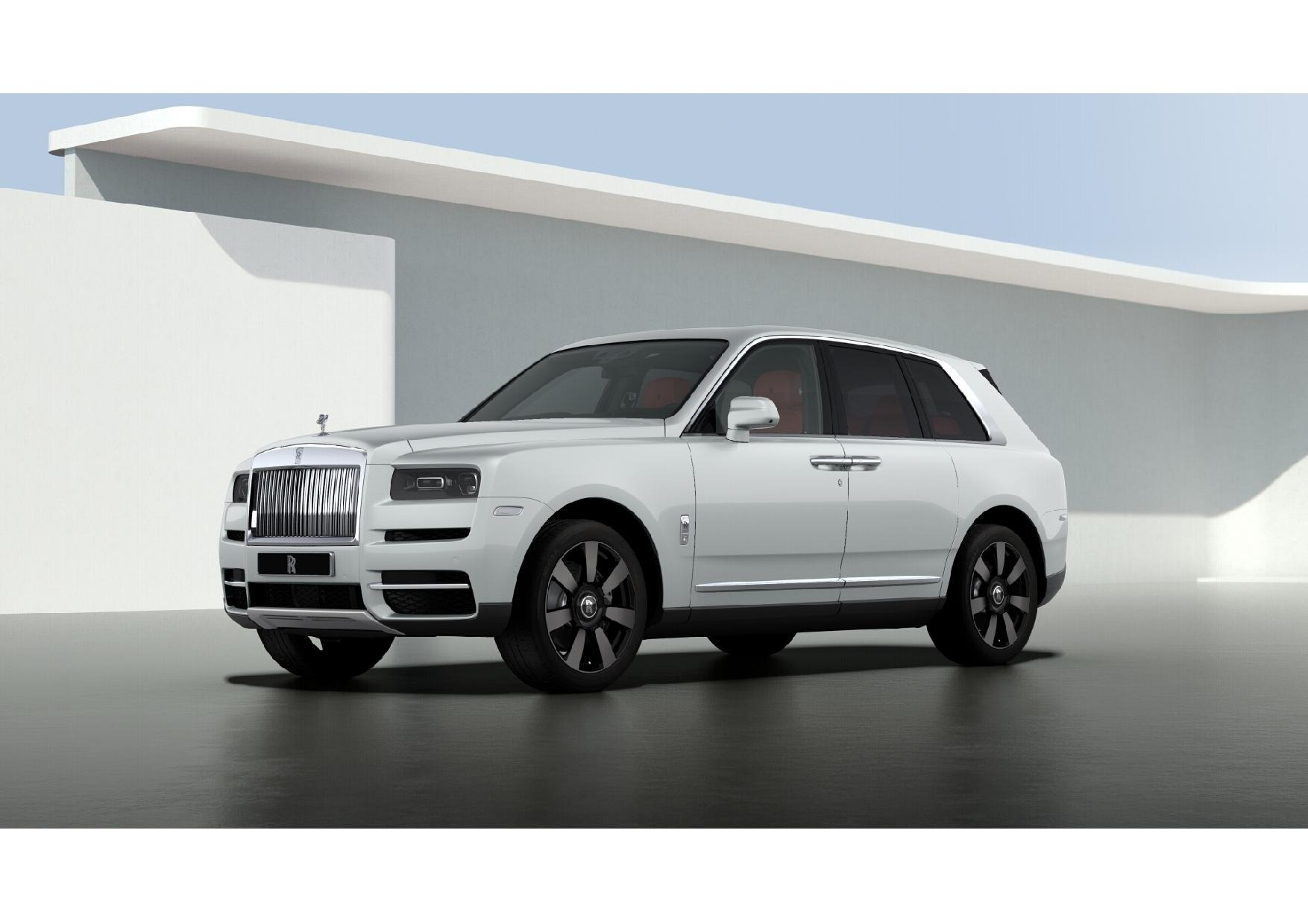 New 2021 Rolls-Royce Cullinan Base for sale $376,925 at Pagani of Greenwich in Greenwich CT 06830 1