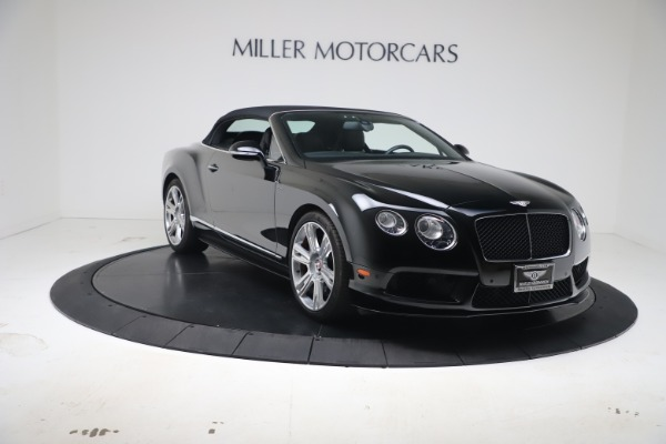Used 2014 Bentley Continental GTC V8 S for sale $109,900 at Pagani of Greenwich in Greenwich CT 06830 19