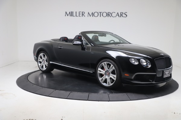 Used 2014 Bentley Continental GTC V8 S for sale $109,900 at Pagani of Greenwich in Greenwich CT 06830 9