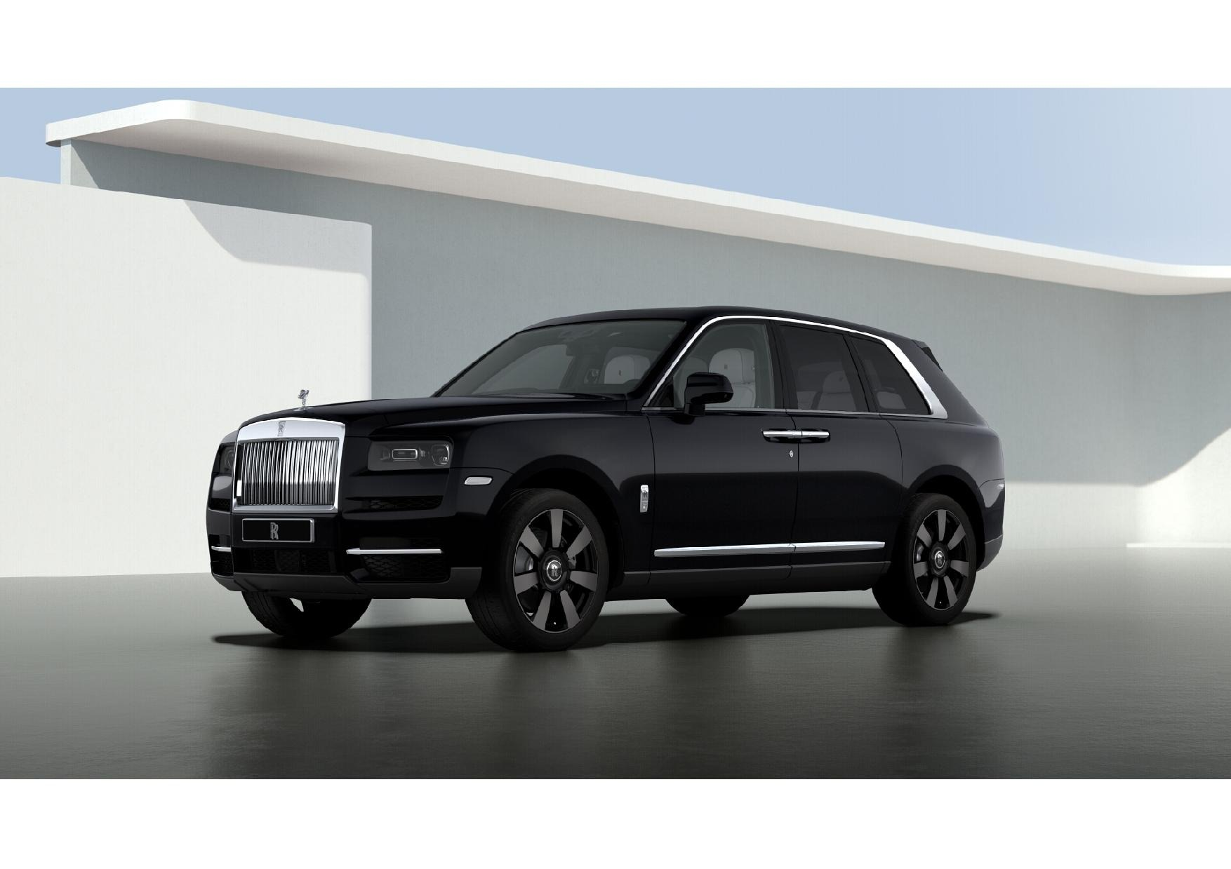 New 2021 Rolls-Royce Cullinan for sale $376,075 at Pagani of Greenwich in Greenwich CT 06830 1