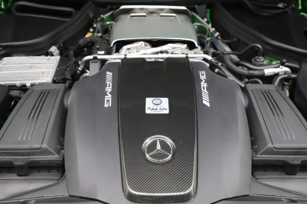 Used 2019 Mercedes-Benz AMG GT R for sale $155,900 at Pagani of Greenwich in Greenwich CT 06830 28