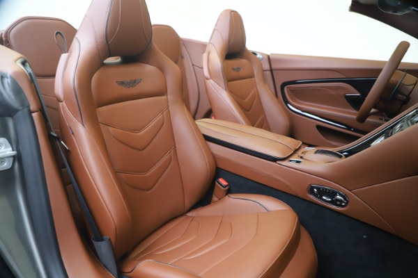 New 2020 Aston Martin DBS Superleggera Volante for sale Sold at Pagani of Greenwich in Greenwich CT 06830 24