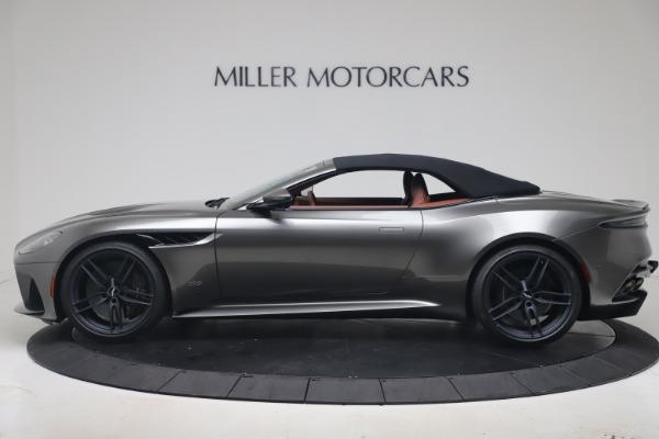 New 2020 Aston Martin DBS Superleggera Volante for sale Sold at Pagani of Greenwich in Greenwich CT 06830 27