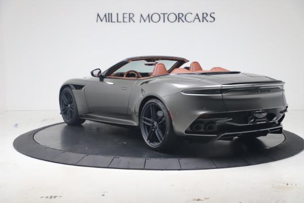 New 2020 Aston Martin DBS Superleggera Volante for sale Sold at Pagani of Greenwich in Greenwich CT 06830 4