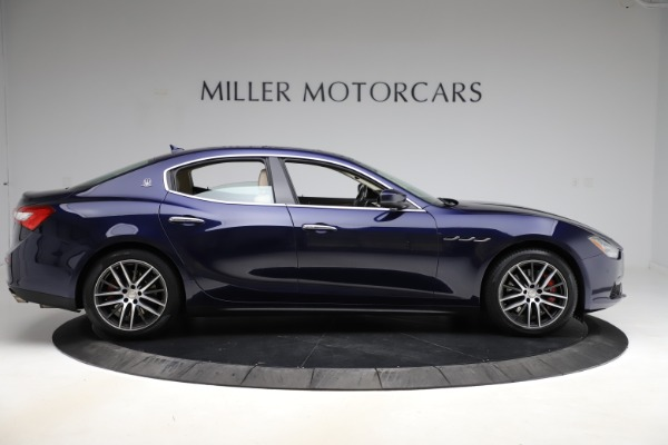 Used 2017 Maserati Ghibli S Q4 for sale Sold at Pagani of Greenwich in Greenwich CT 06830 9