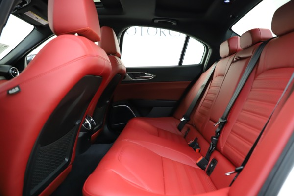 New 2020 Alfa Romeo Giulia Ti Sport Q4 for sale $51,495 at Pagani of Greenwich in Greenwich CT 06830 17