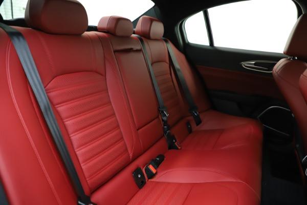 New 2020 Alfa Romeo Giulia Ti Sport Q4 for sale $51,495 at Pagani of Greenwich in Greenwich CT 06830 22
