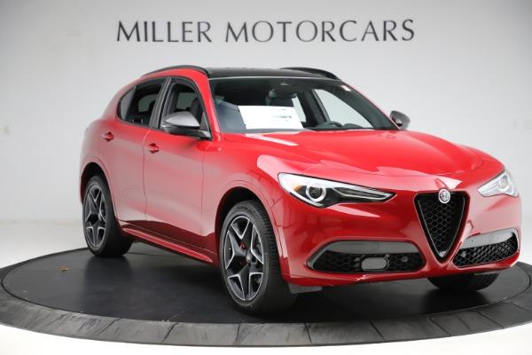 New 2020 Alfa Romeo Stelvio Ti Sport Carbon Q4 for sale $58,745 at Pagani of Greenwich in Greenwich CT 06830 11