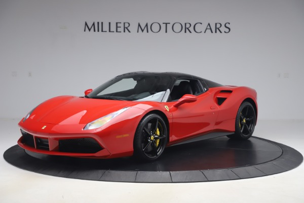 Used 2018 Ferrari 488 Spider for sale $286,900 at Pagani of Greenwich in Greenwich CT 06830 12