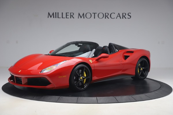 Used 2018 Ferrari 488 Spider for sale $286,900 at Pagani of Greenwich in Greenwich CT 06830 2