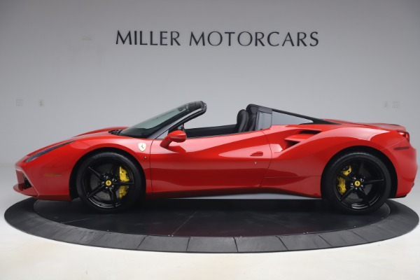 Used 2018 Ferrari 488 Spider for sale $286,900 at Pagani of Greenwich in Greenwich CT 06830 3