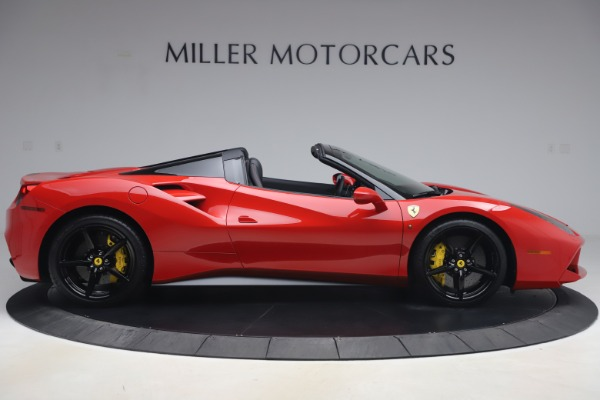 Used 2018 Ferrari 488 Spider for sale $286,900 at Pagani of Greenwich in Greenwich CT 06830 9