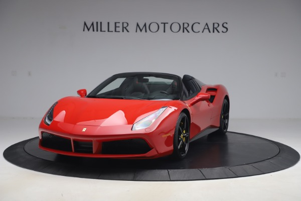 Used 2018 Ferrari 488 Spider for sale $286,900 at Pagani of Greenwich in Greenwich CT 06830 1