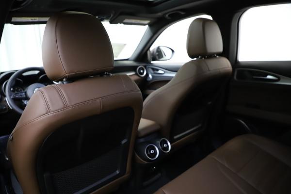 New 2020 Alfa Romeo Stelvio Ti Sport Q4 for sale Sold at Pagani of Greenwich in Greenwich CT 06830 20
