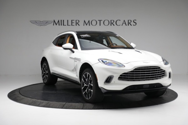 New 2021 Aston Martin DBX for sale $211,636 at Pagani of Greenwich in Greenwich CT 06830 10