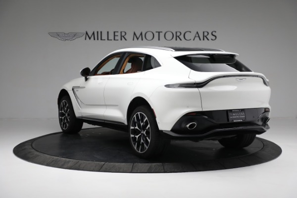 New 2021 Aston Martin DBX for sale $211,636 at Pagani of Greenwich in Greenwich CT 06830 4