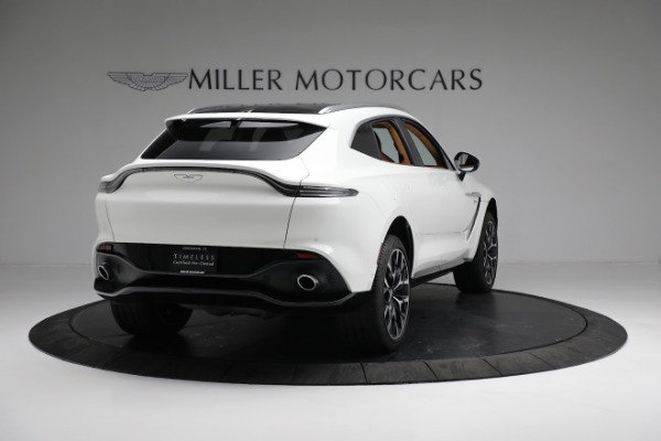 New 2021 Aston Martin DBX for sale $211,636 at Pagani of Greenwich in Greenwich CT 06830 6