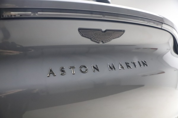 New 2021 Aston Martin DBX for sale $194,486 at Pagani of Greenwich in Greenwich CT 06830 22