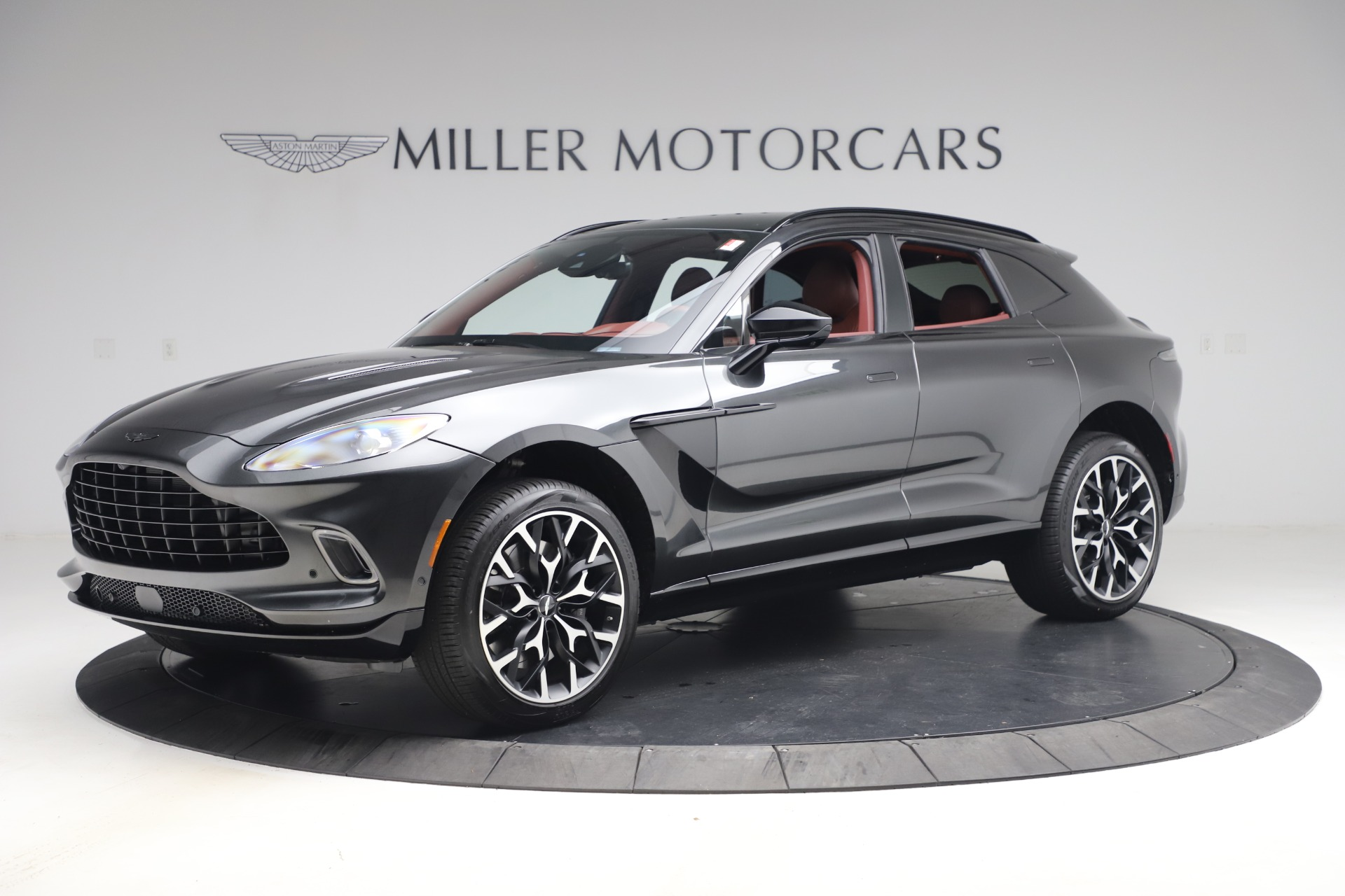New 2021 Aston Martin DBX for sale $224,886 at Pagani of Greenwich in Greenwich CT 06830 1