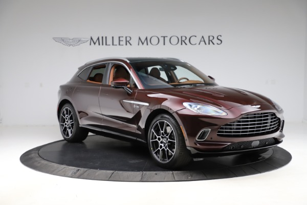 New 2021 Aston Martin DBX for sale $226,836 at Pagani of Greenwich in Greenwich CT 06830 10