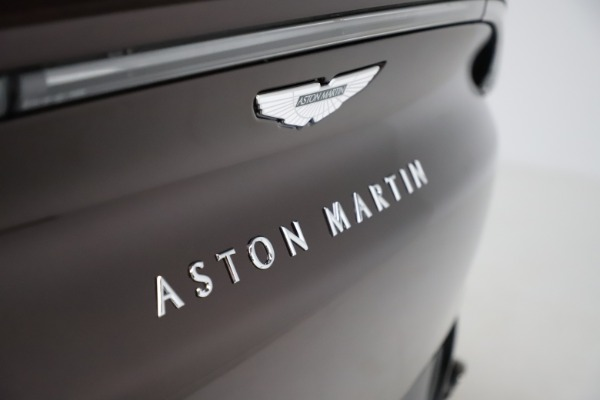 New 2021 Aston Martin DBX for sale $226,836 at Pagani of Greenwich in Greenwich CT 06830 24