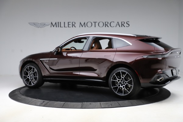 New 2021 Aston Martin DBX for sale $226,836 at Pagani of Greenwich in Greenwich CT 06830 3