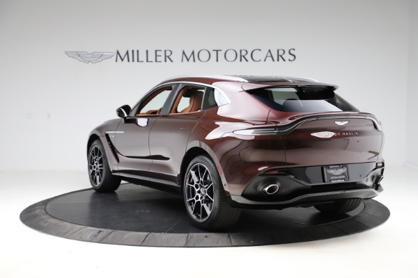New 2021 Aston Martin DBX for sale $226,836 at Pagani of Greenwich in Greenwich CT 06830 4