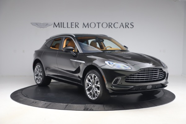 New 2021 Aston Martin DBX for sale $212,886 at Pagani of Greenwich in Greenwich CT 06830 10