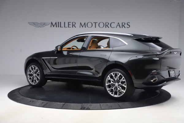 New 2021 Aston Martin DBX for sale $212,886 at Pagani of Greenwich in Greenwich CT 06830 3