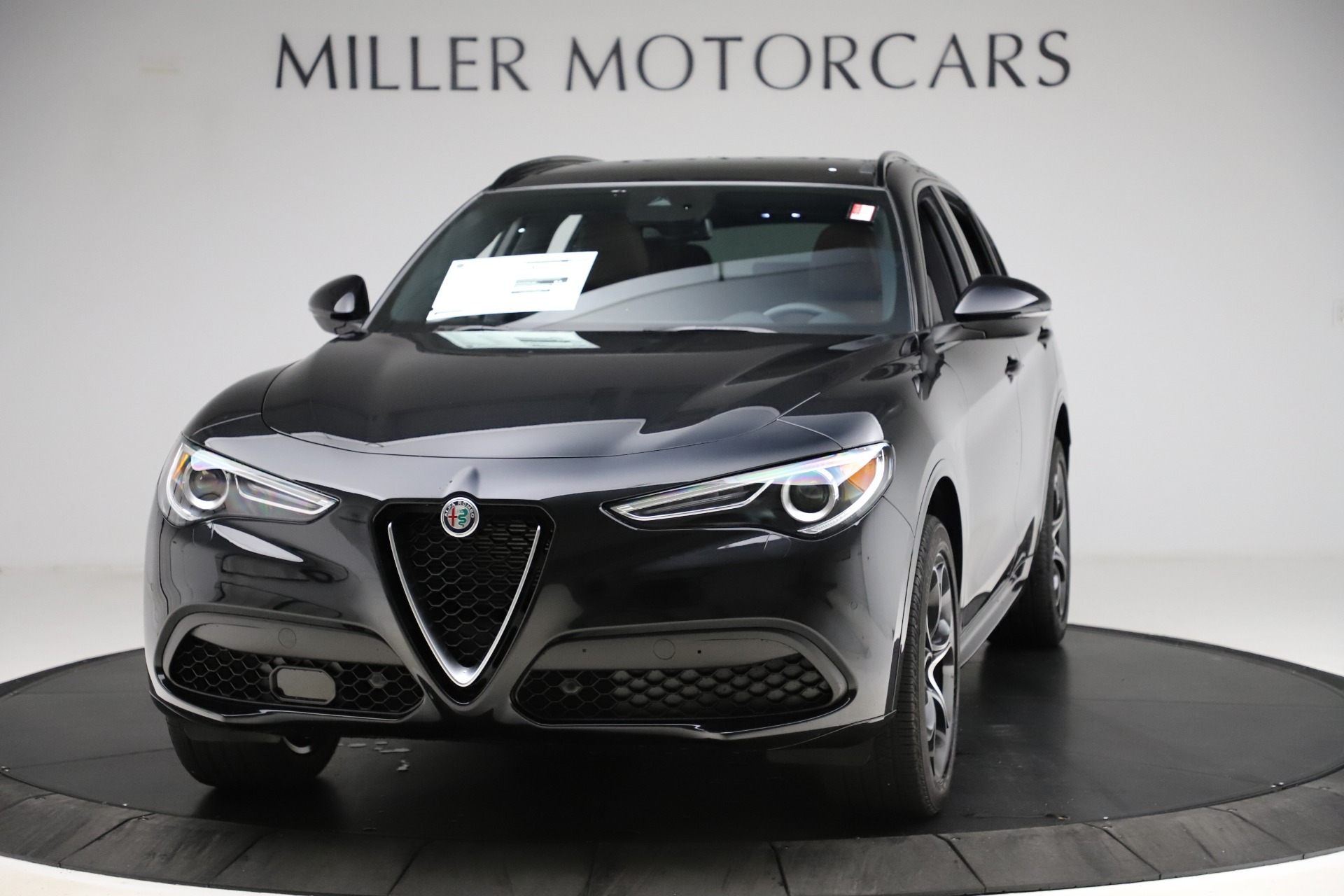 New 2020 Alfa Romeo Stelvio Ti Lusso Q4 for sale $53,995 at Pagani of Greenwich in Greenwich CT 06830 1