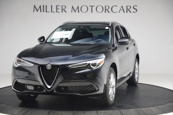 New 2020 Alfa Romeo Stelvio Ti Lusso Q4 for sale $52,695 at Pagani of Greenwich in Greenwich CT 06830 1
