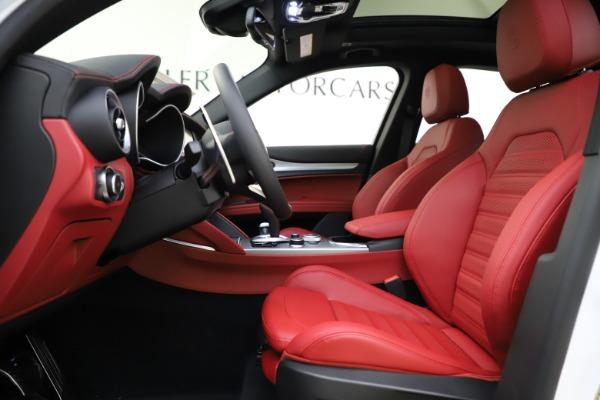 New 2020 Alfa Romeo Stelvio Ti Sport Q4 for sale Call for price at Pagani of Greenwich in Greenwich CT 06830 14