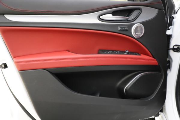 New 2020 Alfa Romeo Stelvio Ti Sport Q4 for sale Call for price at Pagani of Greenwich in Greenwich CT 06830 17