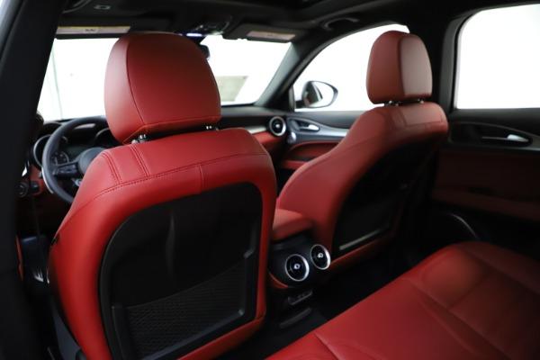 New 2020 Alfa Romeo Stelvio Ti Sport Q4 for sale Call for price at Pagani of Greenwich in Greenwich CT 06830 20