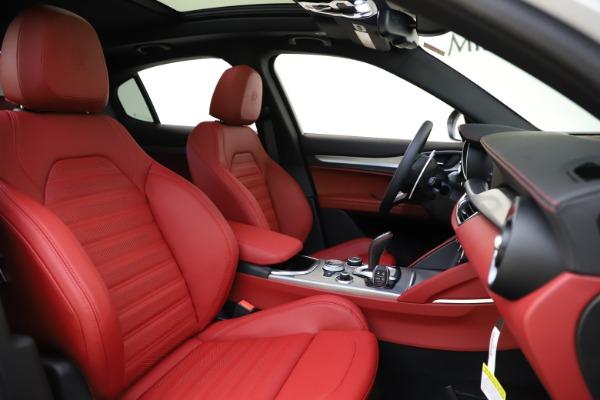 New 2020 Alfa Romeo Stelvio Ti Sport Q4 for sale Call for price at Pagani of Greenwich in Greenwich CT 06830 22