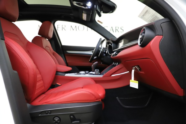 New 2020 Alfa Romeo Stelvio Ti Sport Q4 for sale Call for price at Pagani of Greenwich in Greenwich CT 06830 23