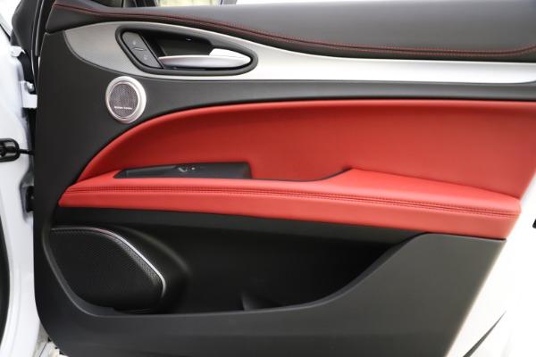 New 2020 Alfa Romeo Stelvio Ti Sport Q4 for sale Call for price at Pagani of Greenwich in Greenwich CT 06830 25