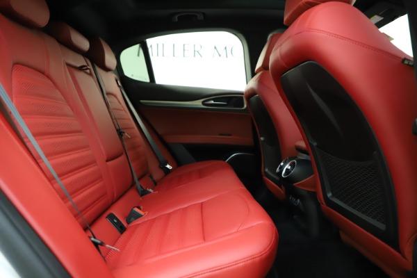 New 2020 Alfa Romeo Stelvio Ti Sport Q4 for sale Call for price at Pagani of Greenwich in Greenwich CT 06830 27