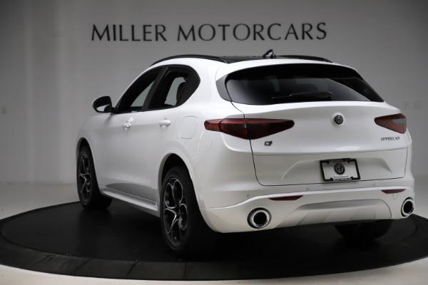 New 2020 Alfa Romeo Stelvio Ti Sport Q4 for sale Call for price at Pagani of Greenwich in Greenwich CT 06830 5