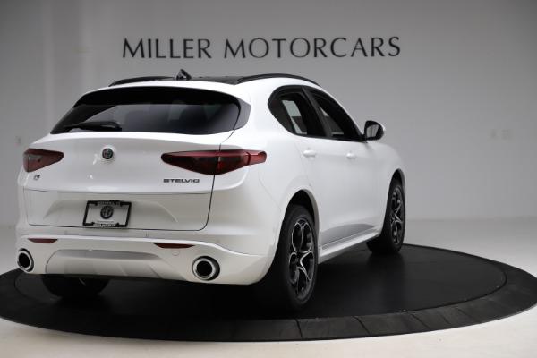 New 2020 Alfa Romeo Stelvio Ti Sport Q4 for sale Call for price at Pagani of Greenwich in Greenwich CT 06830 7