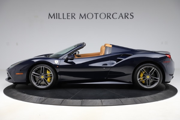 Used 2018 Ferrari 488 Spider for sale Call for price at Pagani of Greenwich in Greenwich CT 06830 3