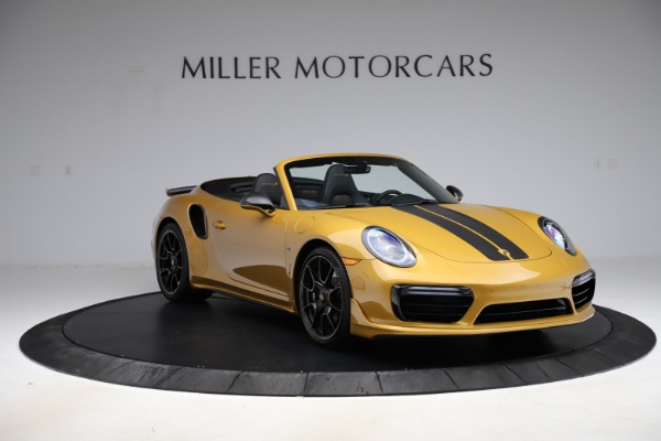 Used 2019 Porsche 911 Turbo S Exclusive for sale $249,900 at Pagani of Greenwich in Greenwich CT 06830 11