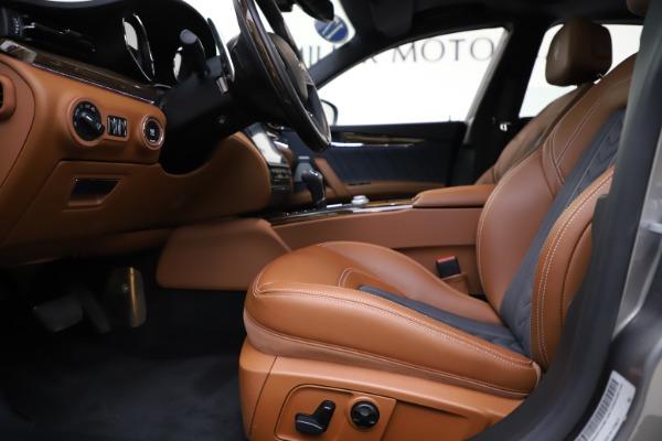 Used 2017 Maserati Quattroporte S Q4 GranLusso for sale $59,900 at Pagani of Greenwich in Greenwich CT 06830 14