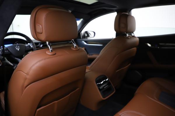 Used 2017 Maserati Quattroporte S Q4 GranLusso for sale $59,900 at Pagani of Greenwich in Greenwich CT 06830 20