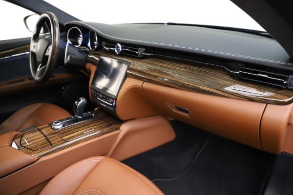 Used 2017 Maserati Quattroporte S Q4 GranLusso for sale $59,900 at Pagani of Greenwich in Greenwich CT 06830 22